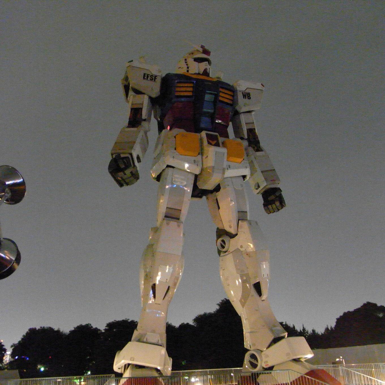 実物大「ガンダム」の展示、3月5日で終了へ
