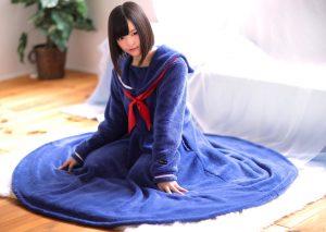 最高かよ!? セーラ服パジャマ「セラコレ」に着る毛布タイプが登場!