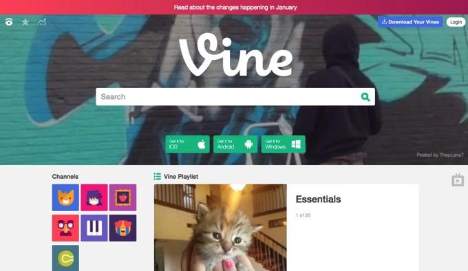 サービス終了の「Vine」、1月に「Vine Camera」に移行 ―― 6秒ループ撮影&Twitter投稿は継続