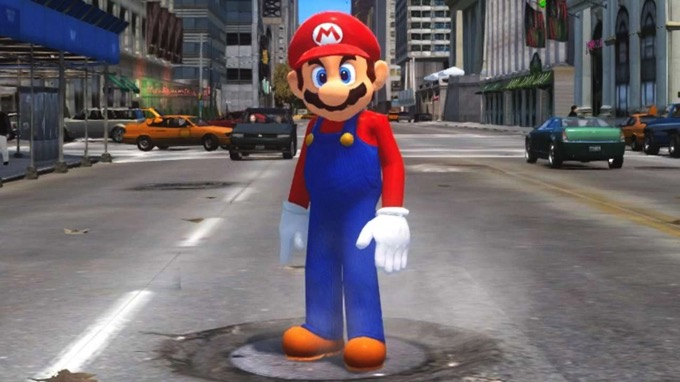これが「スーパーマリオ オデッセイ」!? 「GTA」で再現した動画が完全に闇落ち