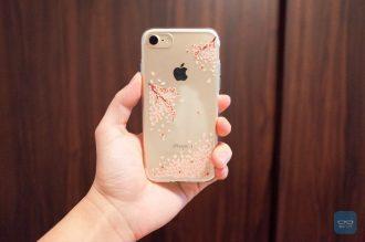【レビュー】iPhoneに桜舞い散る、透明・超薄・超軽量ケース「シャイン・ブロッサム」