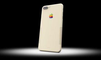 超ほしい!オールドMac風カラーの「iPhone 7 Plus + Retro」
