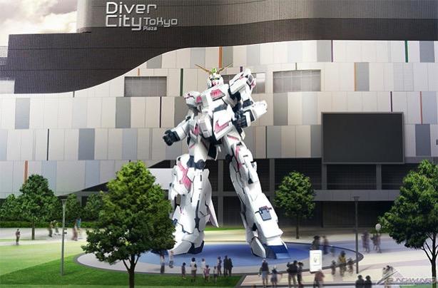 Odaiba unicorn gundam 1