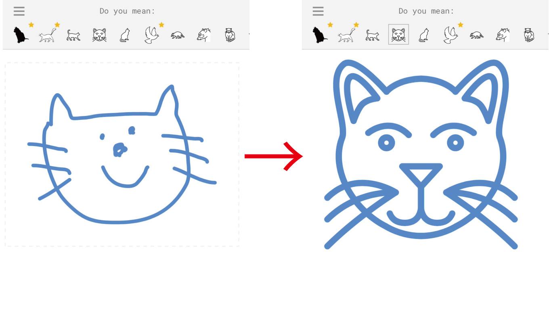 凄すぎ!落書きをプロの絵に変換する「AutoDraw」が公開、ネットは大喜利状態に