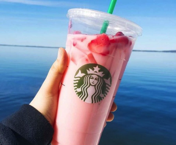Starbucks pink drink