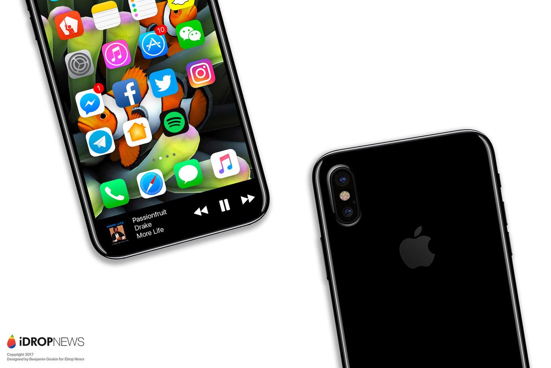 IPhone 8 Function Area iDrop News Exclusive 5