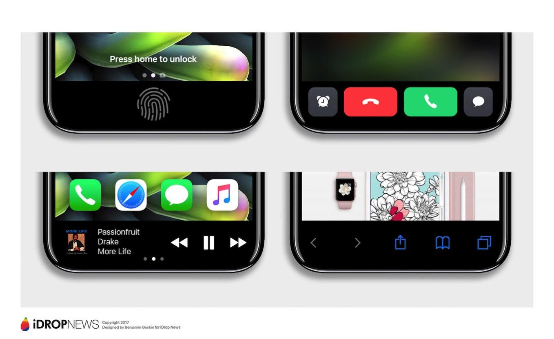 IPhone 8 Function Area iDrop News Exclusive 7