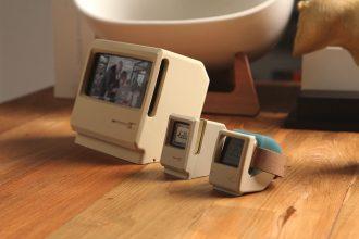 可愛すぎる!初代iMac風のApple Watchスタンドが登場