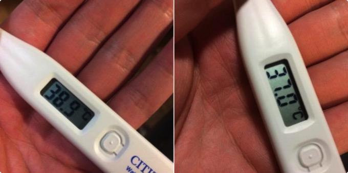 仮病が捗る!? 「高熱が出た時の体温計」写真をフリー素材として配布するユーザーが続出