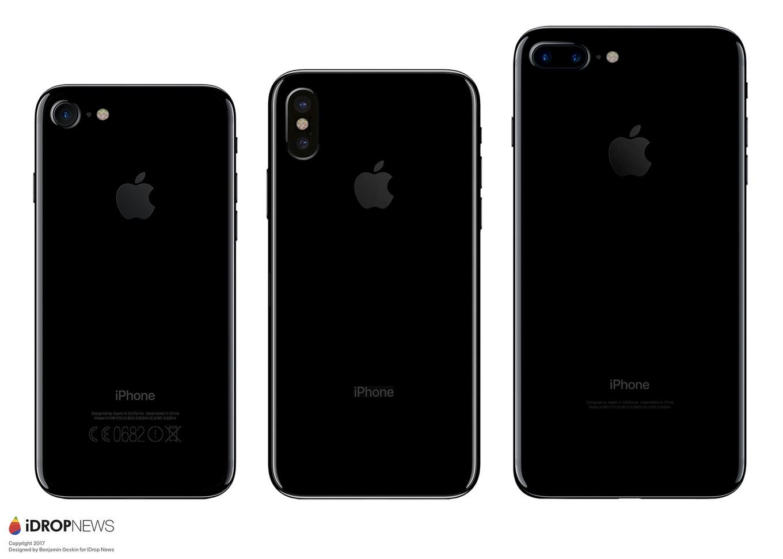 IPhone 8 Size Comparison iDrop News 1