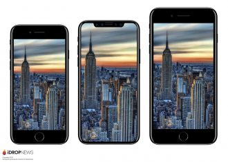 iPhone 8 の大きさは iPhone 7 より大きくなる?比較画像が公開
