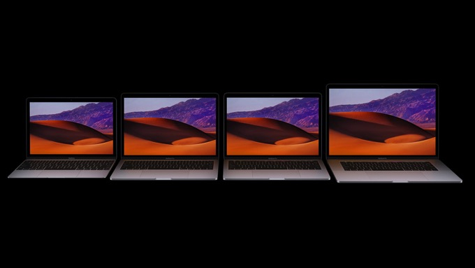 New 2017 imac mac laptop family
