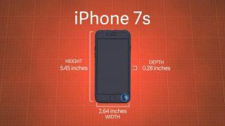 """「iPhone 7s」シリーズ、本体サイズは現行モデルよりも""""極わずか""""に大きく"""