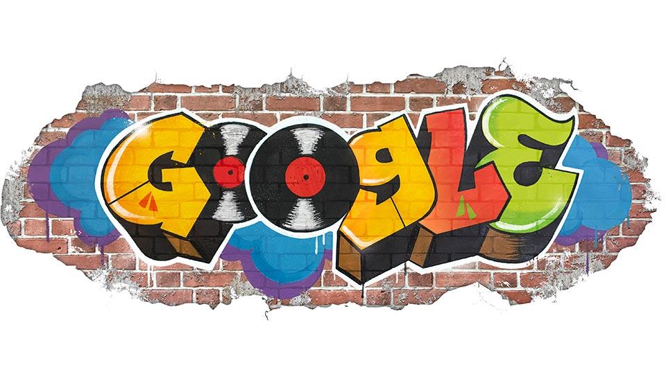 Google、トップページでDJプレイが可能に!「ヒップホップ誕生44周年記念」