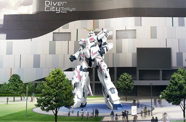 「実物大ユニコーンガンダム」、9月24日より展示開始 デストロイモードへ変形も再現