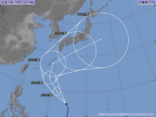 【台風22号】29日に関東に最接近する可能性、「サオラー」の由来は「絶滅危惧種の動物の名前」