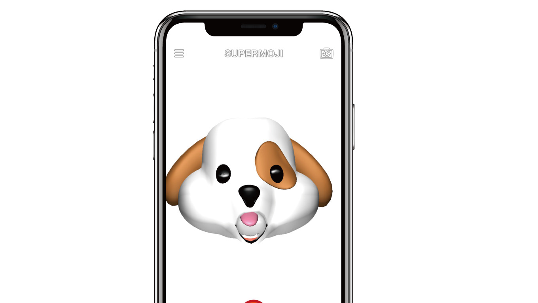 「アニ文字」をiPhone X以外で使う方法は?無料アプリ「SUPERMOJI」