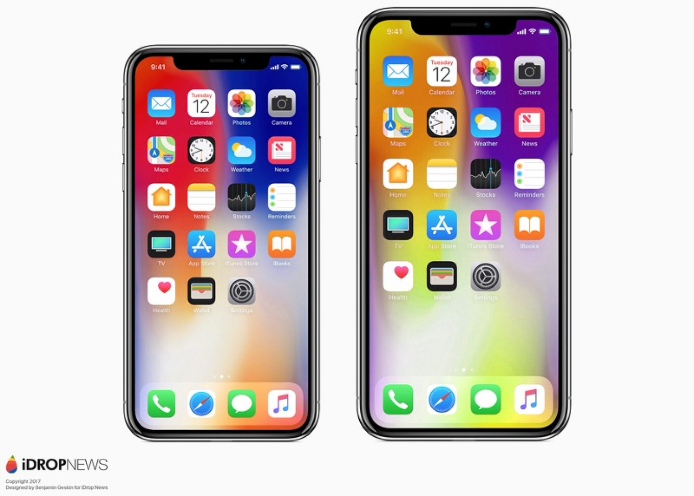 「iPhone X」大型モデル、iPhone 8 Plusと同じ大きさ?iPhone X後継モデルはカメラセンサーが大型に