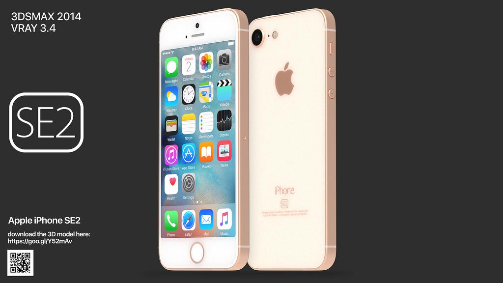 次期「iPhone SE」に最も近い? ハイクオリティなコンセプトイメージが公開