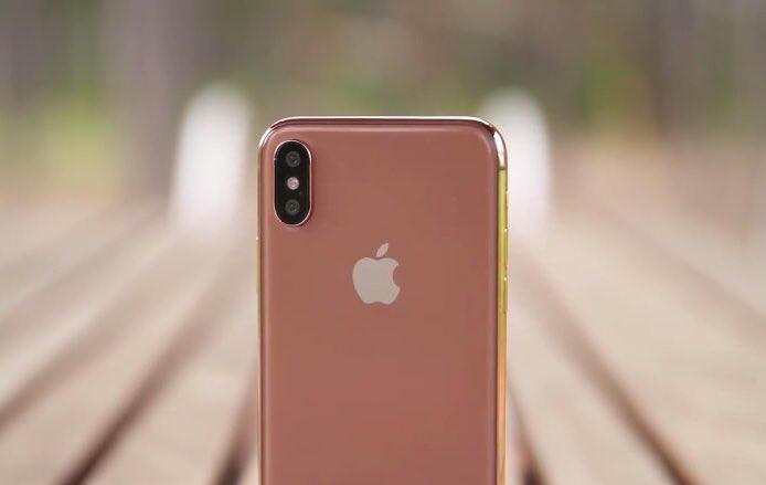 「iPhone X」に新色ブラッシュゴールドが登場か、次期「iPhone SE」は9月以降