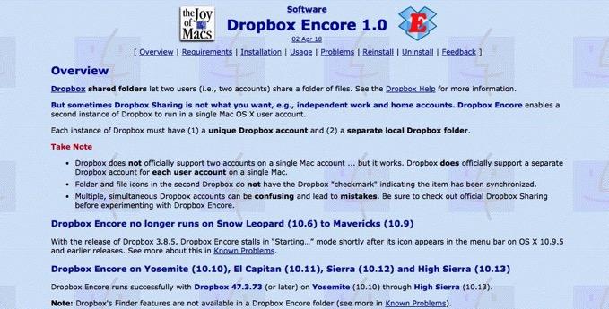 dropbox-Encore