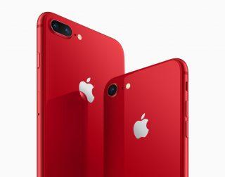 赤×黒がカッコイイ!iPhone 8「(PRODUCT)RED Special Edition」13日より発売