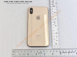 「iPhone X」のゴールドモデル、AppleがFCCに提出した資料から発見される