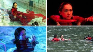 新垣結衣が水中で神秘的な姿を披露、ガッキー本人の心臓の音をBGMにした新CMが公開
