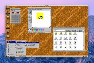 Windows 95がアプリになって登場!MacやWindows、Linuxなどで動作