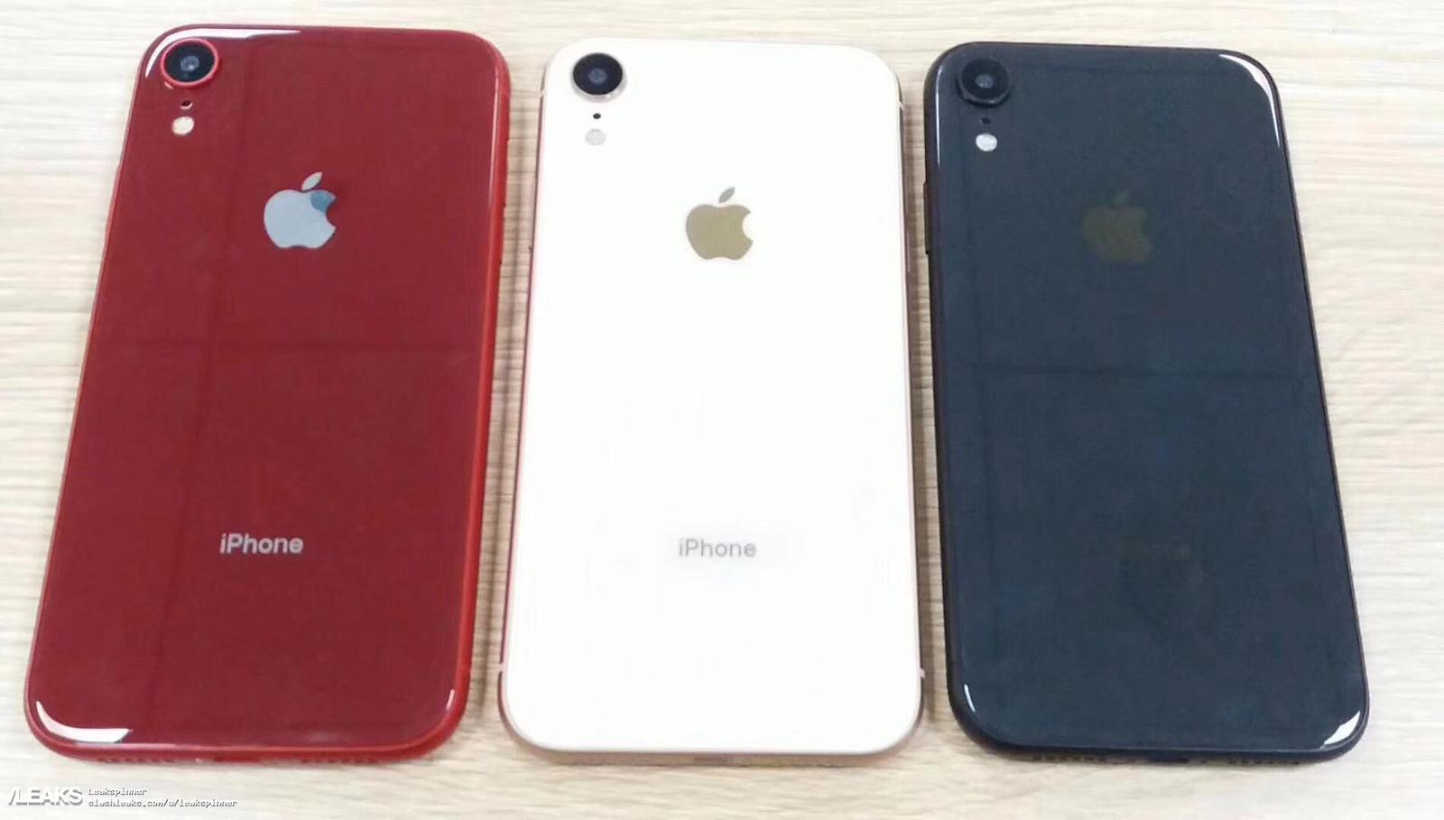 「iPhone 9」のモックアップ画像が流出、レッド・ホワイト・ブルーの3色も登場か