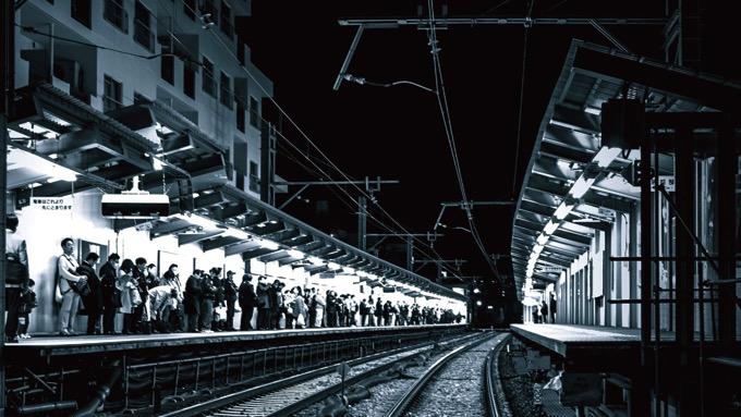 山手線の各駅から放射状に最終電車を表現した『東京終電マップ』、「センス良すぎ」と称賛の声が殺到