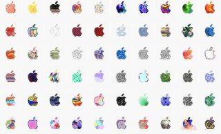 Apple、スペシャルイベントのロゴデザイン「370個」まとめ