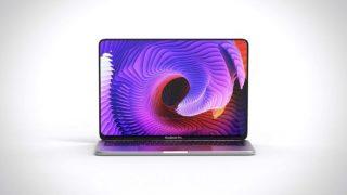 新型MacBook Proはこうなる?有機ELディスプレイ搭載で、Face IDなどを搭載したコンセプト