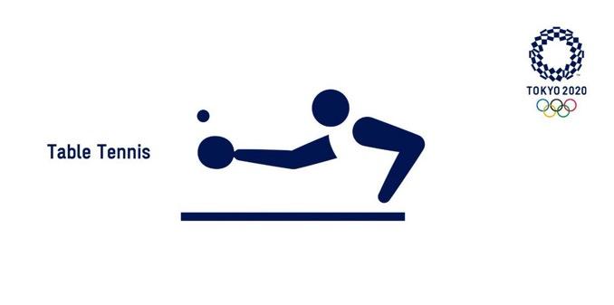 東京五輪「卓球のピクトグラム」心が汚れている人には違うものに見える?
