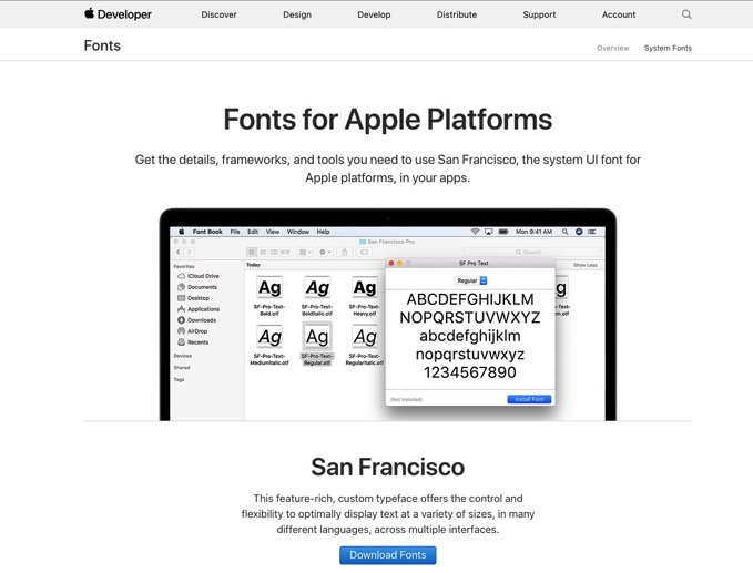 Fonts-for-Apple-Platforms