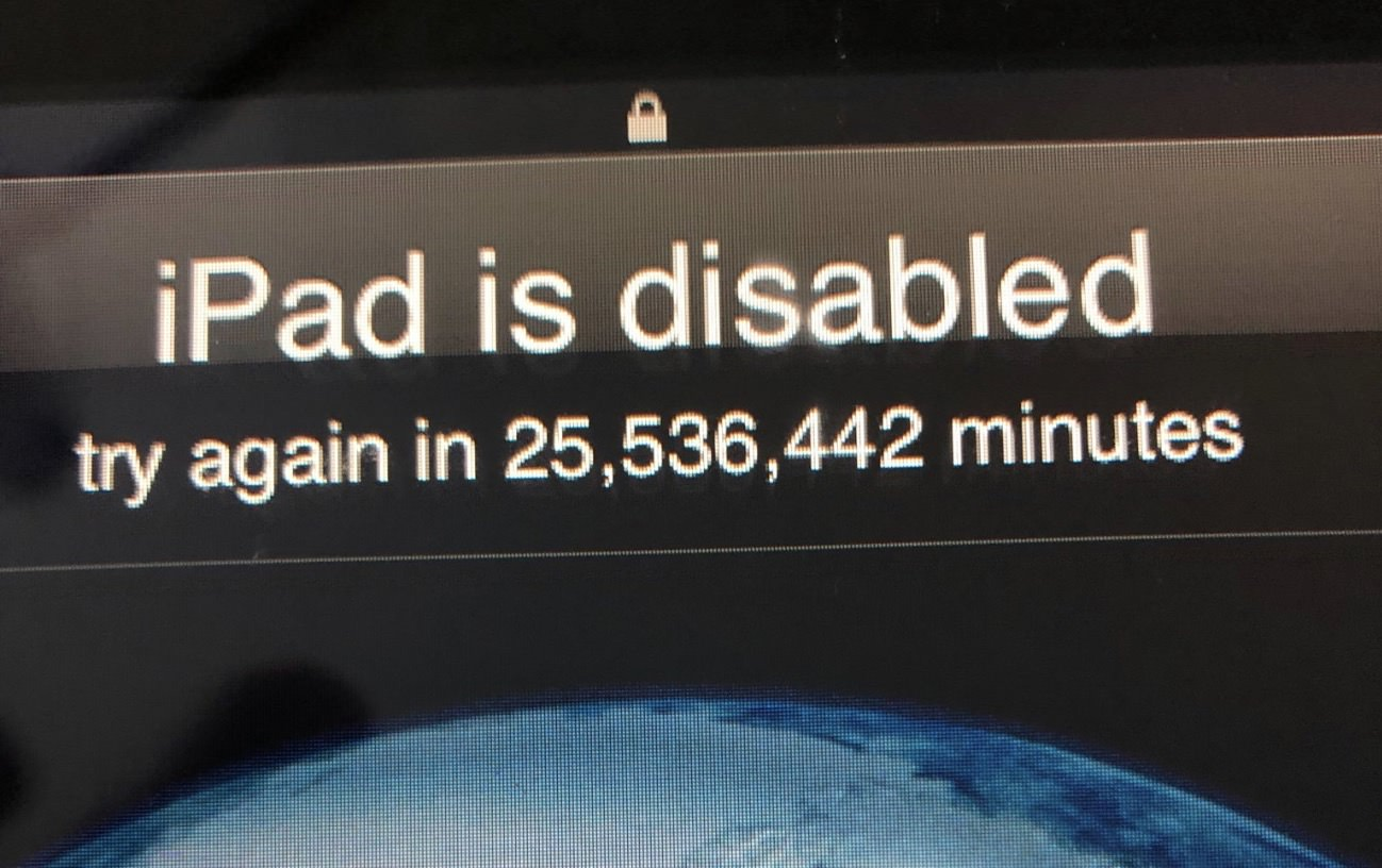 ipad-is-disabled