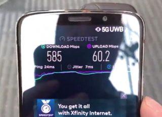自宅の回線並みじゃないか……「5G」回線のスピードテスト動画が続々公開