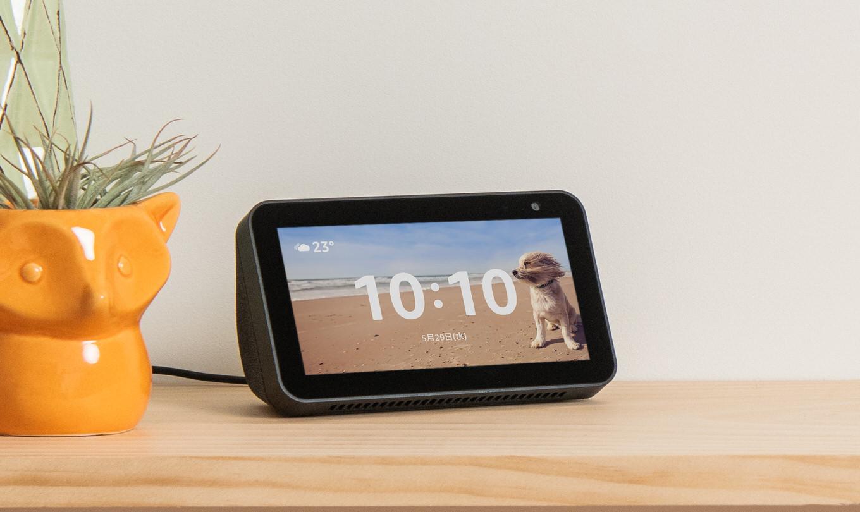 「Amazon Echo Show 5」発売、5.5インチのディスプレイ付きスマートスピーカー