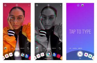 Instagramが3つの新機能を発表!「新しいカメラ」に追加されたクリエイトモードって何?