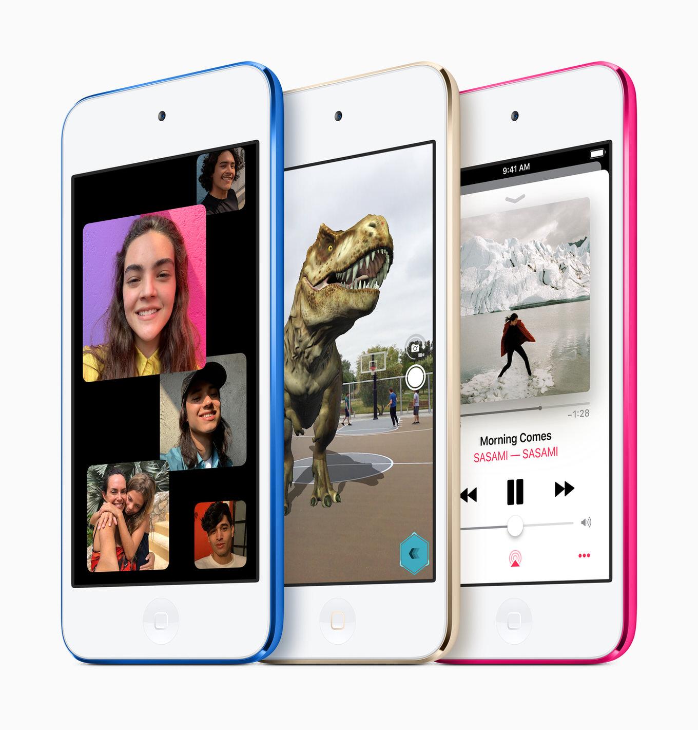 約4年ぶりに新型「iPod touch」が登場!「最もお手頃なiOSデバイス」21,800円から