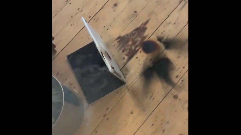 【怖すぎ】MacBook Proが使用中に爆発して炎上する事故が発生、原因はAppleの調査待ち