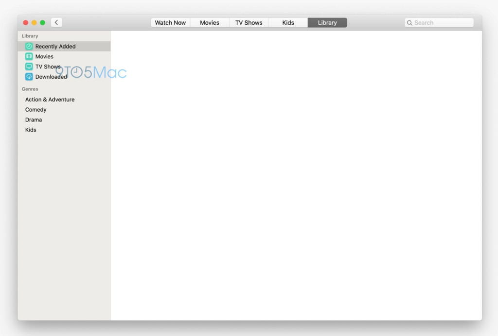 次期「macOS」で加わる新アプリ「ミュージック」「TV」のスクリーンショットが流出