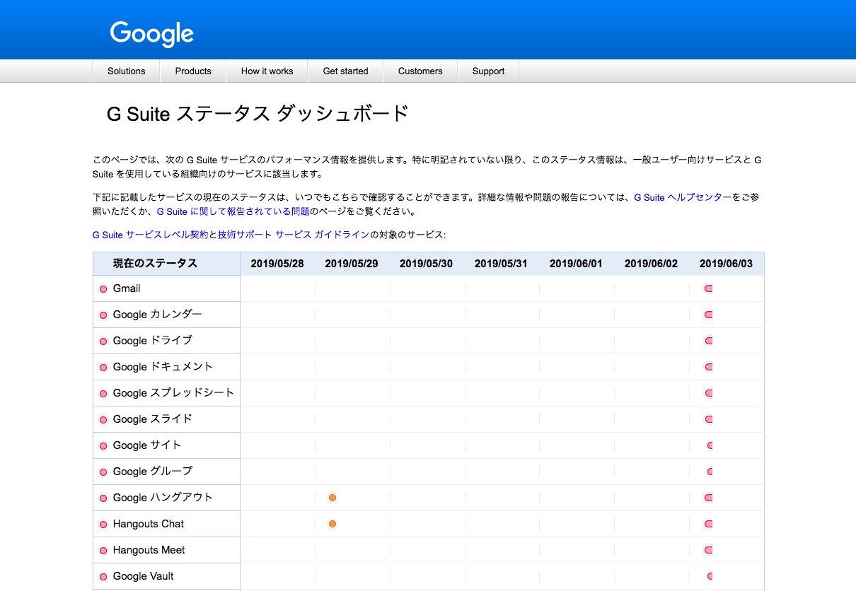Googleで大規模障害が発生、GmailやGoogleドキュメントなど広範なサービスに影響