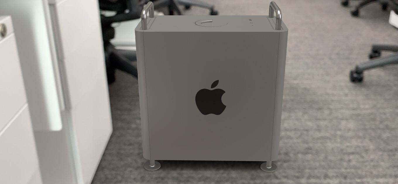 実物大「Mac Pro」を今すぐ確認できる!公式サイトにAR機能が登場