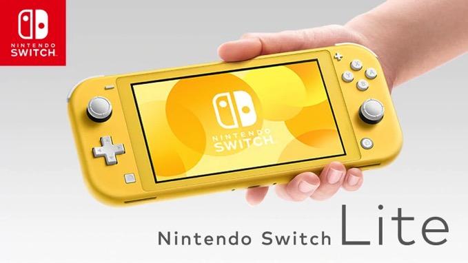 「Nintendo Switch Lite」9月20日に発売、携帯に特化した廉価版 価格は19,980円