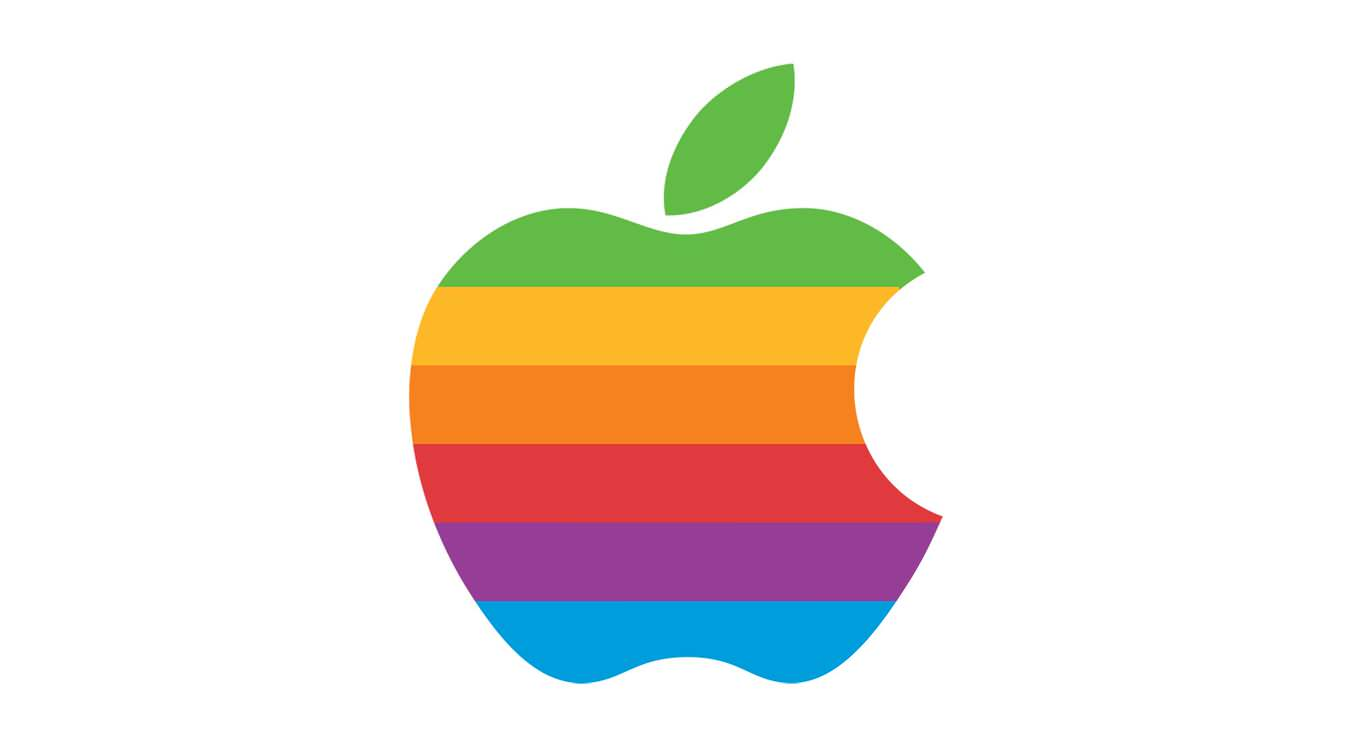 apple-rainbow-logo