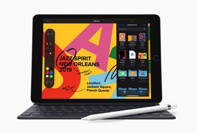 新型「10.2インチ iPad」発表、34,800円からーーApple PencilとSmart Keyboardも対応