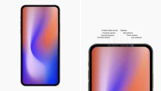 2020年のiPhoneからは「ノッチ」がなくなるデザインに変更か、プロトタイプ画像がリーク