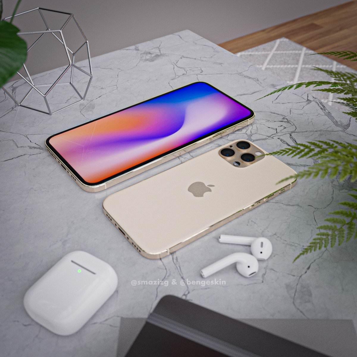 2020年のiPhone、新たなコンセプトイメージが公開――5.4インチは「iPhone SE」ファンに人気が出そう