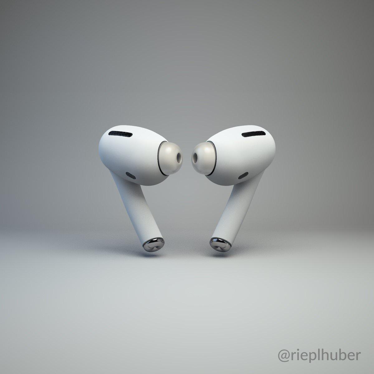 ノイズキャンセル搭載の新型「AirPods」はこうなる?最新リーク情報から作られたレンダリング画像